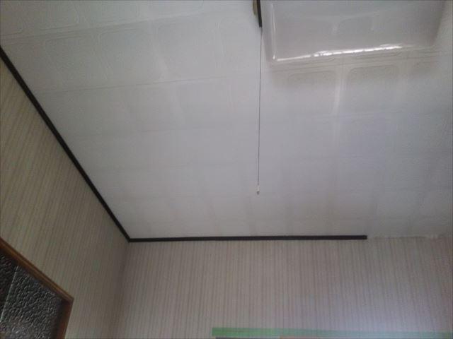 キッチン天井塗装完了