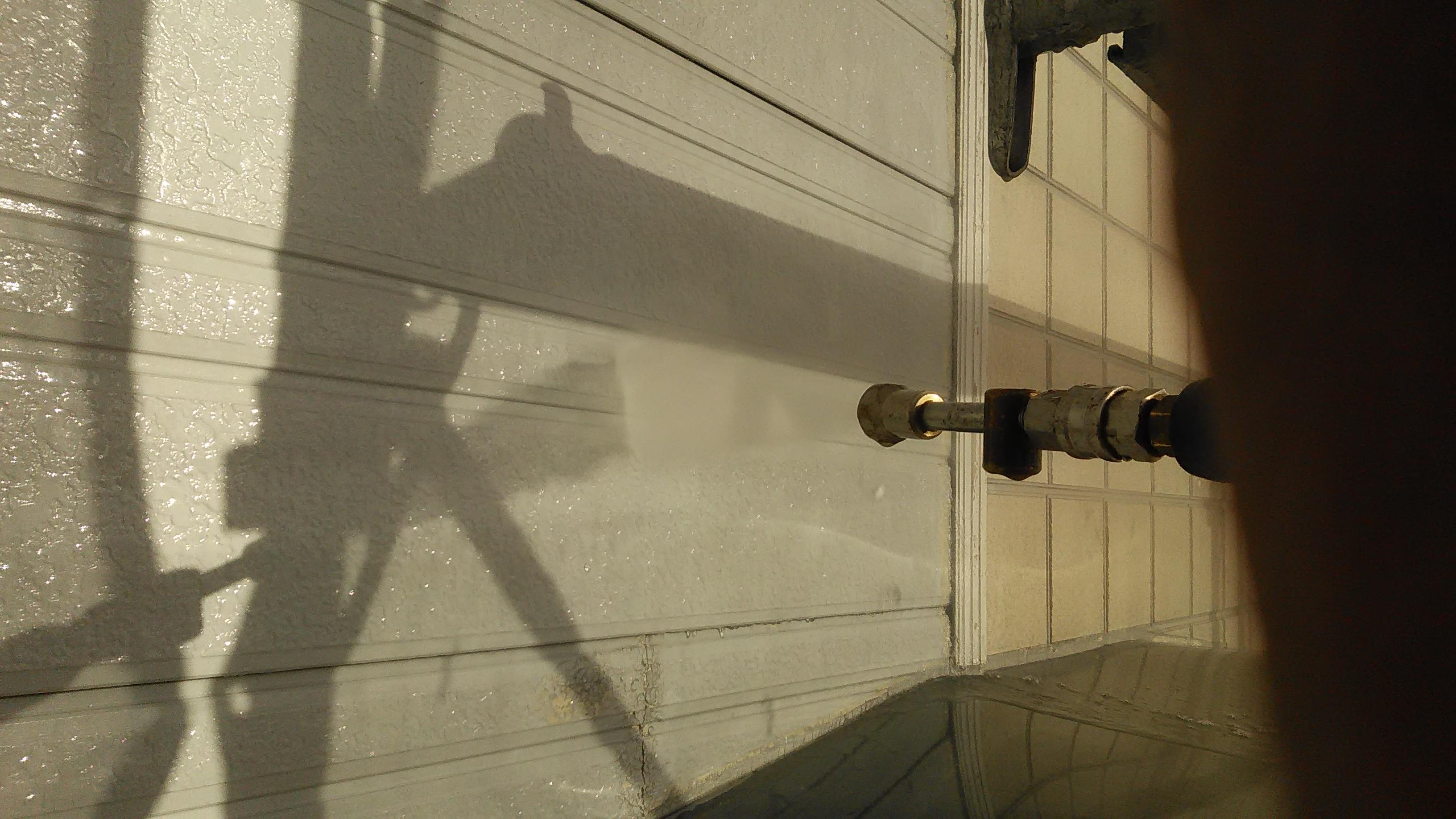 サイディング外壁高圧洗浄