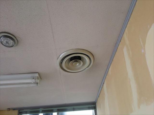 天井塗装完了