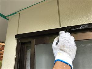 窓サッシ 塗装