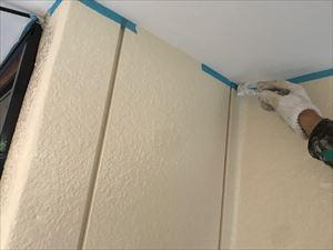 軒天 補修塗装